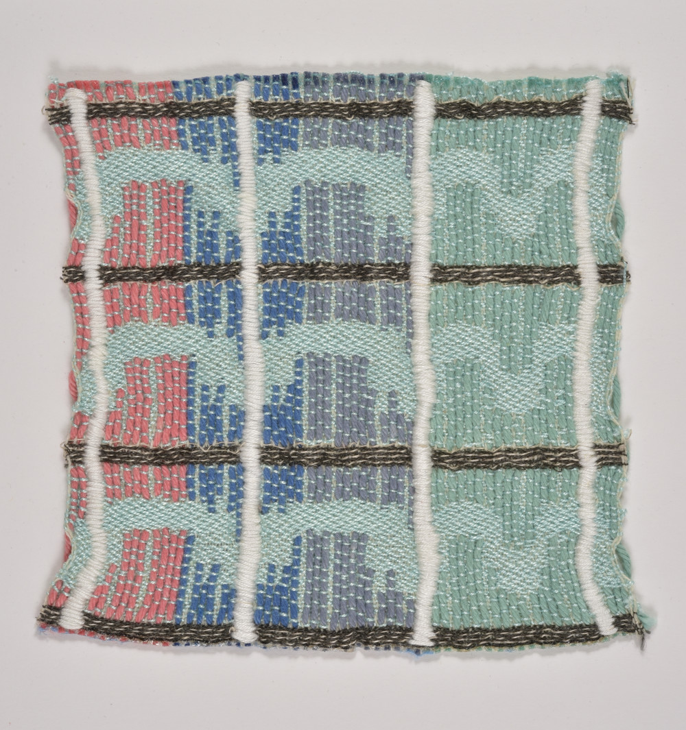 Yonah Taieb, Color Project 3, Cotton weaving