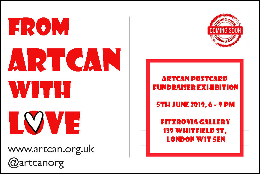 From ArtCan With Love_2019_PostCard Invite