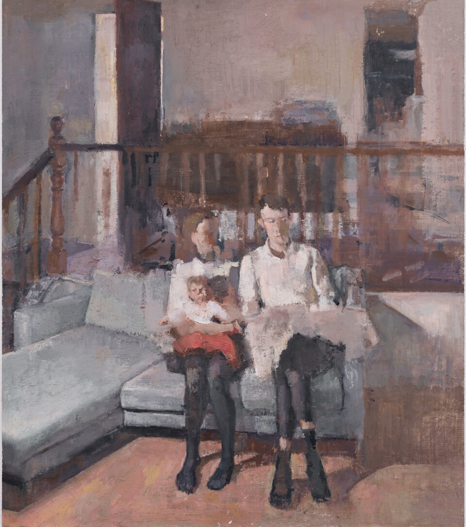 Marie, 2020, Oil on Canvas