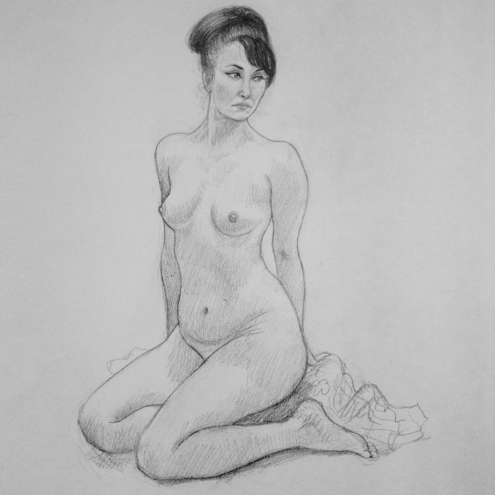 Life Drawing - Debra McFarlane