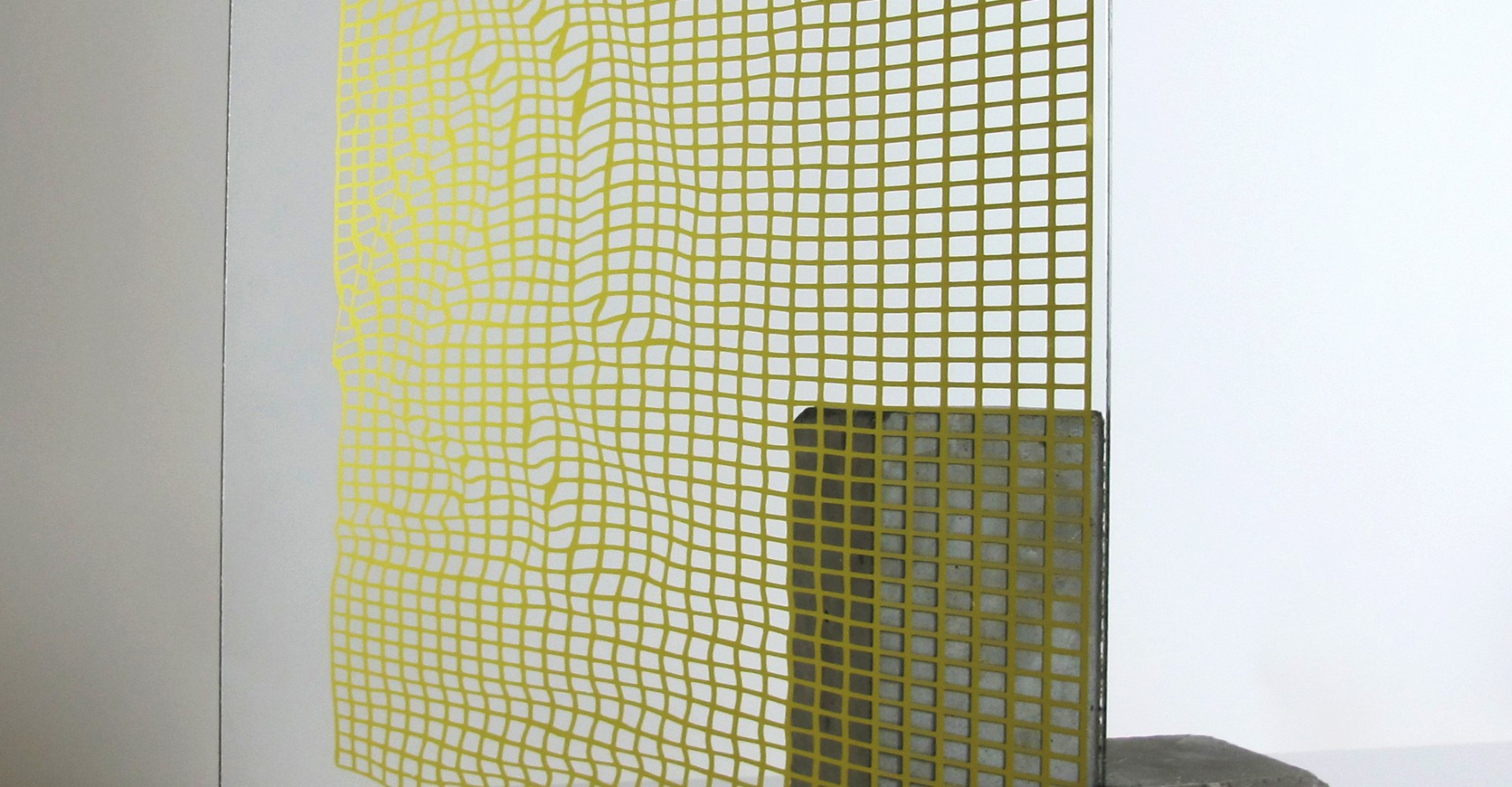 Samuel Padfield 'Rippled grid study' 2018