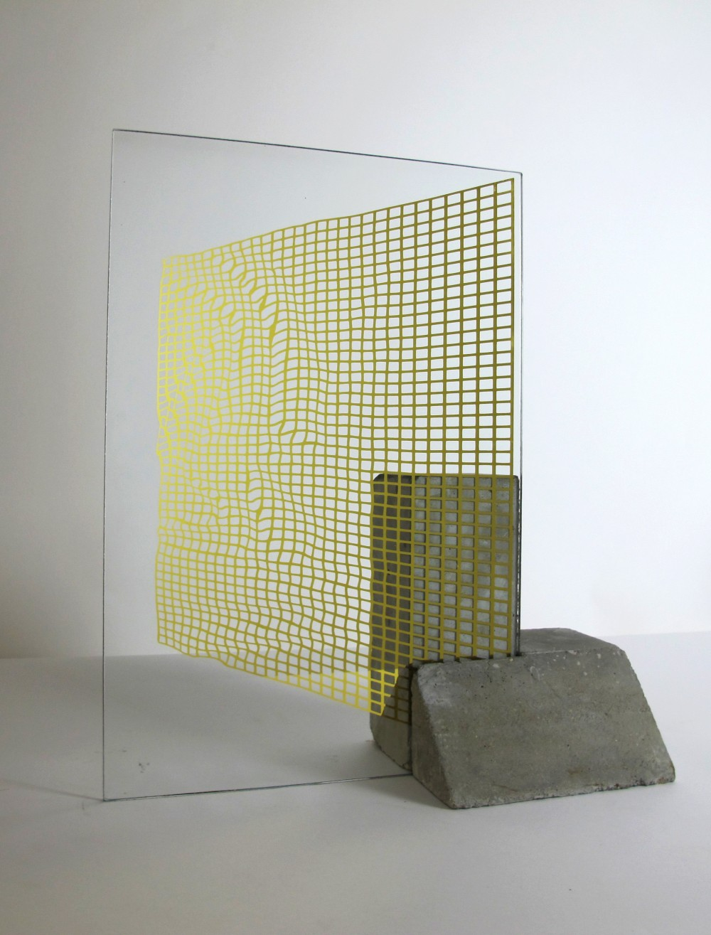 Samuel Padfield 'Rippled grid study' 2018