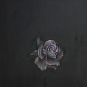 'I Feel Love', oil on linen, 75 x 75 cm, 2015