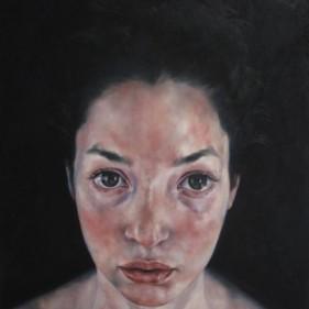'Violetta', oil on canvas, 120 x 80 cm, 2015