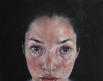 'Violetta', oil on canvas, 120 x 80 cm, 2015