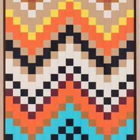 Orange Chevron - Brian Reinker 2021